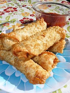 Best homemade shrimp eggrolls! Plus its simple to make!