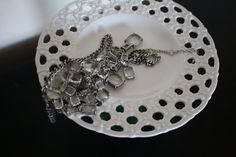 Vintage cake stand Jewelry stand by StandAloneDesigns on Etsy, $16.00