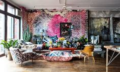 Some artists make art not just of their canvases, but their entire homes. Today we're taking a look at 3 incredibly creative homes of artists and designers, which will have you seeing your whole space in a completely different light.
