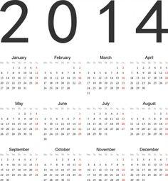 2014 Calendar Printable 7 720x780 2014 Calendar Ready to Printable