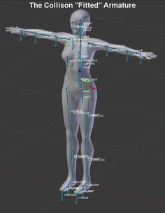 Aine's Opensim Blog: TUTORIAL: Principles of Blender Rigging and Weighting - Part V