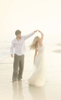 Romantic beach engagement photo shoot ideas 00003 - YS Edu Sky Beach Engagement Photos, Beach Wedding Photos, Beach Wedding Photography, Wedding Poses, Engagement Couple, Wedding Couples, Engagement Photography, Wedding Pictures, Wedding Beach