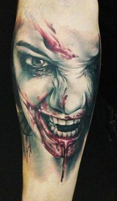 Realism Face Tattoo by Florian Karg - http://worldtattoosgallery.com/realism-face-tattoo-by-florian-karg-18/