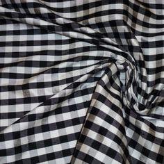 doupioni gingham Gingham, Fabrics, Silk, Tejidos, Cloths, Silk Sarees, Fabric, Textiles