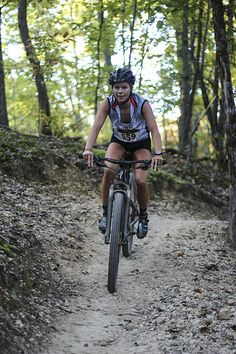 Who says girls can't ride MtB's