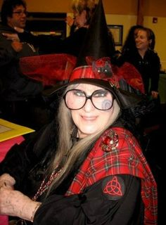 Laurie Cabot ((Still a very beautiful lady no matter what her age! Wiccan, Magick, Witchcraft, Pagan, Witch Queen, Valley Of The Kings, Sacred Feminine, Witch Aesthetic, Green Man