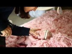 Natural light newborn photography with Ana Brandt and 9 day newborn baby girl Quinn - YouTube