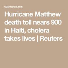 Hurricane Matthew death toll nears 900 in Haiti, cholera takes lives | Reuters http://evememorial.org/index.html