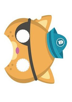 ONE Octonauts Printable Party Mask by jlaidlaw on Etsy, $5.00