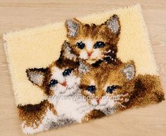Three Kittens Latch Hook Kit