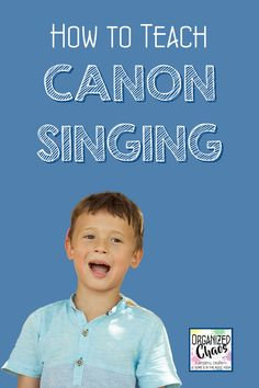 One of the first steps in learning part-singing is through canons/rounds. As an elementary music teacher, I love teaching students how to sing in canon- their faces just light up when they are first able to sing in two different parts without my help!! Here is a step-by-step walk through of the teaching process I use to get elementary students singing canons for the first time. Teaching Music, Student Teaching, Teaching Resources, Classroom Management Tips, Behavior Management, Classroom Setup, Classroom Organization, Elementary Choir, Kindergarten Lessons