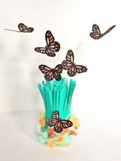 Monarch Butterfly Craft