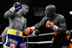 Boxing: Miguel Cotto vs Floyd Mayweather Photoshop