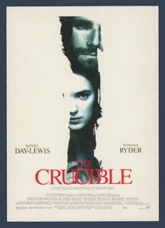 Postcards - Celebrities #  985 - The Crucible with Daniel Day-Lewis & Winona Ryder