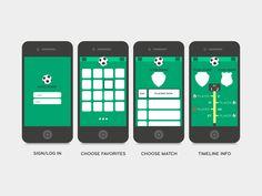Soccer App by Francisco Lourenço