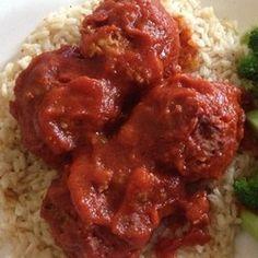 Lamb Meatballs and Sauce - Allrecipes.com