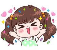 Boobib Lovely Daily (... | 光頭賣 - 最大的LINE貼圖代購網 | 全館通通降五元 VIP儲值300送40 Cute Love Cartoons, Cute Cartoon, Baby Girl Earrings, Cartoon Gifs, Girl Humor, Cute Stickers, Hello Kitty, Kawaii, Funny