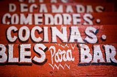 Mexican Folk Typography via Hammock Dreams