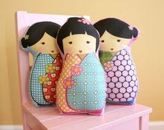 Love pillow dolls! Had one when I was growing up!