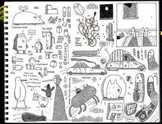 Tom Gauld Sketchbooks.