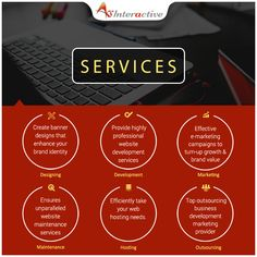 Whether you need help for developing your #business website, or you just want to enhance your brand awareness, our different services can do wonders for you! For more details visit www.aksinteractive.com #DigitalAgency #DigitalMarketing