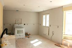 Drywall Installation Tips and Kitchen Progress Update