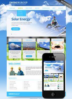 Solar Energy - Joomla template 3.0 version http://www.cbmcard.com/Solar-energy-v3.0-Joomla-template-300111673.html