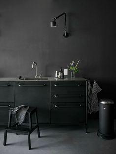 + kitchen | just black ....