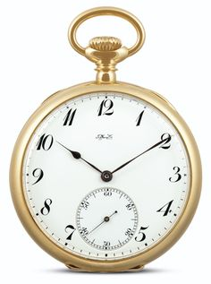 Tiffany & Co A YELLOW GOLD OPEN-FACED KEYLESS LEVER WATCH CIRCA 1890  NO 81784 • nickel lever movement jewelled to the centre, overcoil ha...