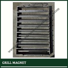 We offer varied size and shape of grill magnets suitable for many industrial applications. It can be attached to the closed chute, floor opening, hoppers, catch bins and other required instruments. It is also available in the shapes like round, square and rectangular. It is frequently used in plastic industries. http://www.magneticequipmentsmanufacturers.com/grill-magnet.html