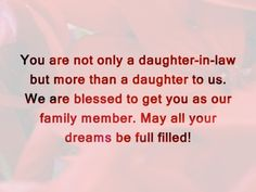 Facebook Daughter-In-Law Birthday Quotes | Happy Birthday Wishes for Daughter in Law: Messages, Quotes and Cards