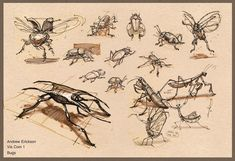 ArtStation - Vis Com Sketches from Concept Design Academy with the beast Peter Han, Andrew Erickson