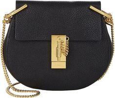 58674d74c1eb Chloé Women s Drew Mini Leather Crossbody Bag Long Strap Purse