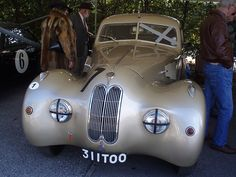 1947 Bristol 400. it has a beautiful front grille.