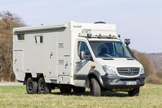 Expedition campers DAKAR by Bocklet Overland Truck, Overland Trailer, Cargo Trailers, Expedition Vehicle, Mercedes Sprinter, Sprinter Van, Cargo Trailer Camper Conversion, Camper Van Conversion Diy, Off Road Camper