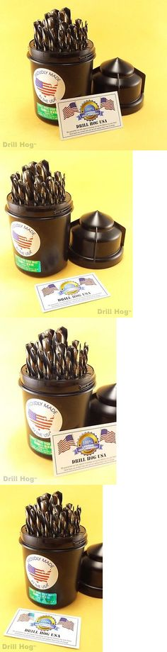 Drill bits 50382 drill hog usa 60 pc number drill bit set wire drill bits 50382 29 pc left hand drill bits left handed drill bit set drillhog greentooth Images