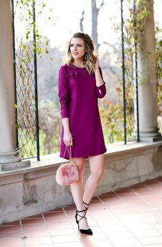 @oldnavy Ruffle-Trim Shift Dress #oldnavystyle #happyistrending