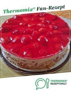 Erdbeertorte - Fruchttorte von Snowi04. Ein Thermomix ® Rezept aus der Kategorie Backen süß auf www.rezeptwelt.de, der Thermomix ® Community.