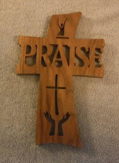 "Christian Wall Decor cross ""family""wooden cross. walnut wood, crosses, christian, wall"