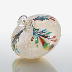 Yuletide Heirloom by Bryce Dimitruk: Art Glass Ornament available at www.artfulhome.com