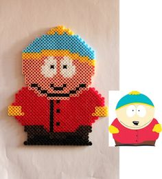South Park - Eric Cartman hama perler beads by Xeina-rose-of-death