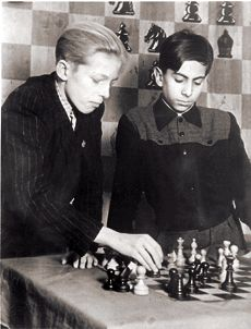 Alvar Gipslis & Mijail Tal