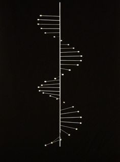 "Poul Kjaerholm ""DNA"" double helix candelabra. Denmark. This could be a cool lines and dots tattoo"