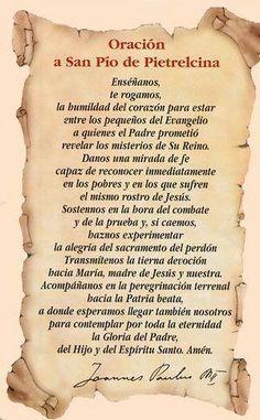 Catholic Prayers Daily, Catholic Religious Education, Spanish Prayers, Novena Prayers, Catholic Religion, God Prayer, Prayer Quotes, Bible Quotes, Strong Faith