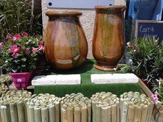 Découvrez les poteries de la madeleine dans votre poterie a vaison la romaine !!!   anduzes, jarres à huiles et biots vous attendent