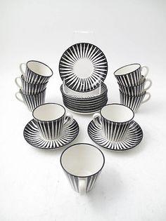 fromscandinaviawithlove: Zebra porcelain by Eugen Trost.