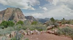 Kolob Canyon Trail in Zion 1.2 miles  #ifit #trail #nordictrack #freemotionfit