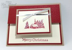 Come and make this fun card design. Using product from the NEW Holiday catalog. For a list of supples visit lisastamps.com Lisa Bowell Stampin Up Demonstrator