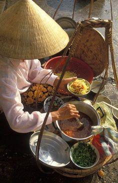 Street food, Old Quarter, Hanoi, Vietnam
