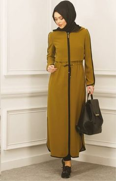 Islamic Fashion, Muslim Fashion, Hijab Fashion, Fashion Dresses, Abaya Pattern, Bali Travel, Abayas, Hijabs, Hijab Outfit